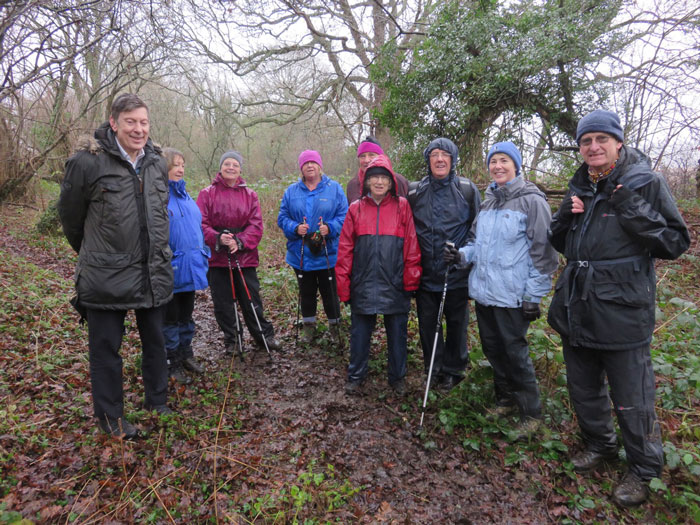 Hungerford U3A walk 16 Jan 2017