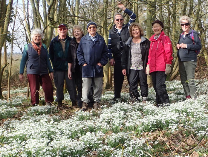 Hungerford U3A walk 20 feb 2017