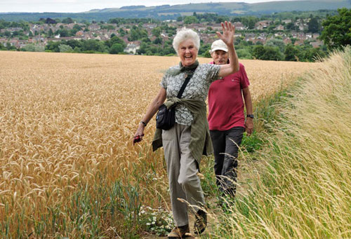 Hungerford U3A walk 16 Jul 2017